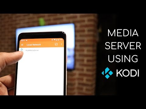 Setting Up A MEDIA SERVER Using Kodi!