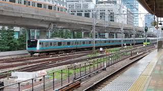 JR山手線 E235系 東京駅到着・発車