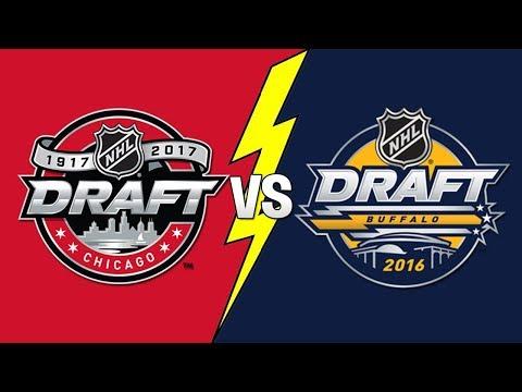 2016 NHL Entry Draft vs 2017 NHL Entry Draft!! (NHL 18)