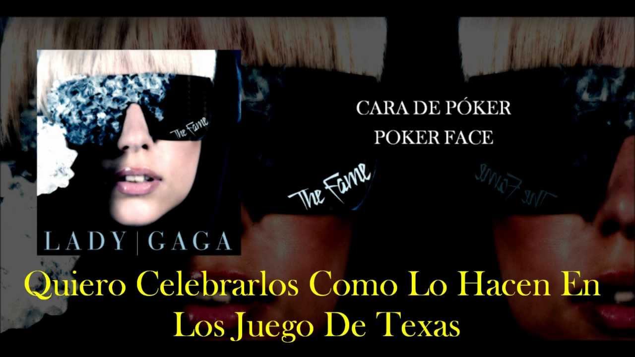 Poker Face Lady Gaga Traducción Español Youtube