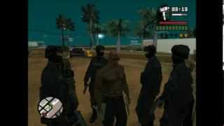 GTA San Andreas: Pedestrian Spawner ARMY!