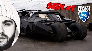 Rocket League : Türkçe - The Dark Knight Tumbler #1 || Araba Akıyor !?