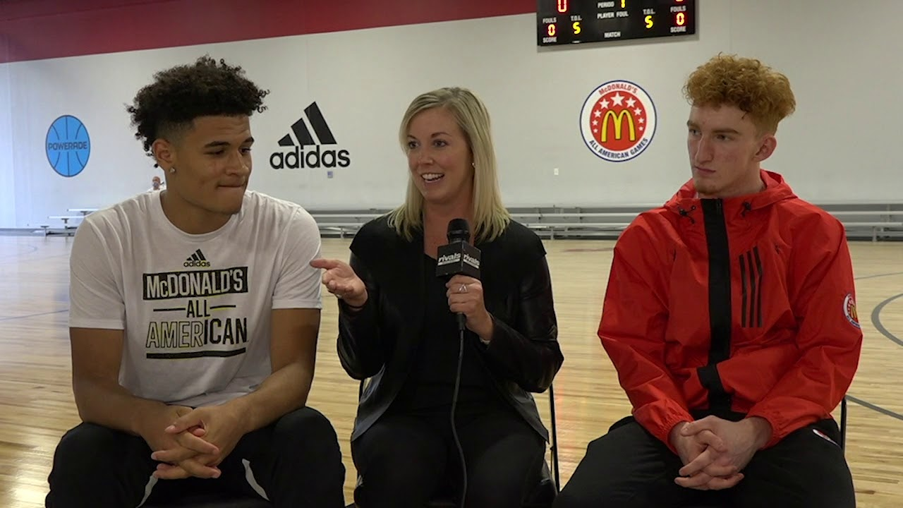 296b08fe968d McDonald s AA Game  One-on-one with Arizona commits Nico Mannion and Josh  Green