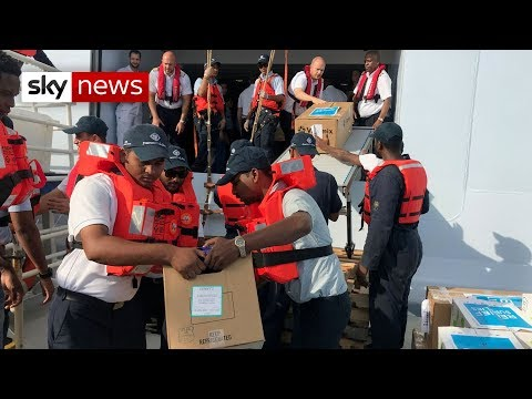 Hurricane Dorian: International aid arrives in the Bahamas