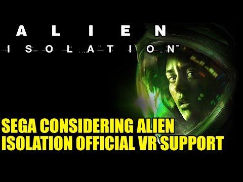 Sega Considering Alien Isolation Official VR Support