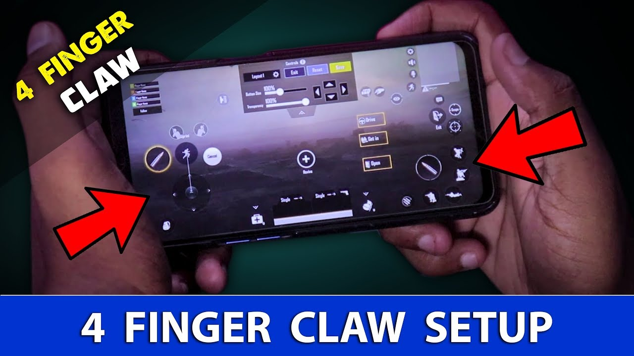 4 Finger Claw Best Setup In PUBG Mobile | PUBG Mobile Claw Tutorial