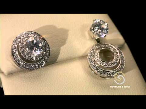 Convertible Earring Jackets At Security Jewelers
