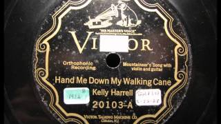 HAND ME DOWN MY WALKING CANE by Kelly Harrell Mountaineer