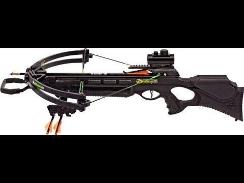 Shooting the Barnett Wildcat C5 crossbow with lumanock's