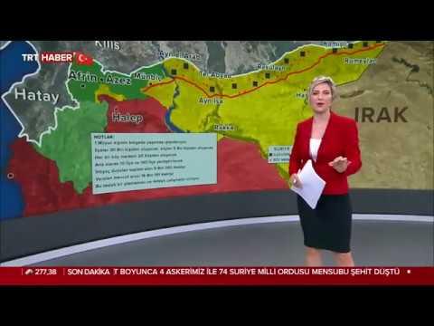 18 Ekim 2019 TRT Haber Ana Haber Bülteni