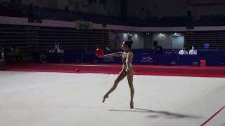 VII Российско-Китайские игры ( Лала Крамаренко-мяч)