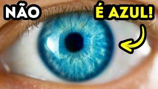 É Por Isso Que os Olhos Azuis São Apenas Uma Ilusão