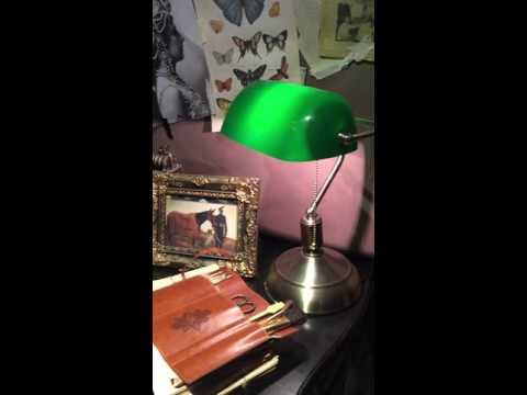 Vintage Banker's lamp   Funny Museum by Daniel Wang