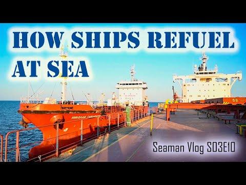 Bunkering : Refueling Ships at Sea |  Seaman Vlog S03E10 Chief MAKOi
