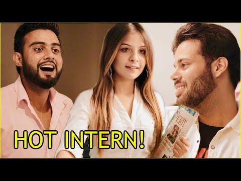 WHEN HOT INTERN JOINS OFFICE ! (Office Romance)