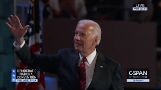 Vice President Joe Biden FULL REMARKS at Democratic National Convention (C-SPAN)