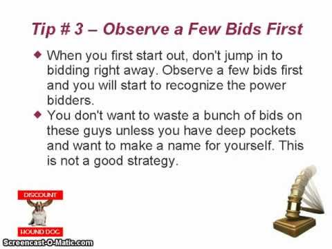 Quick Bids - Tips and Tricks For Penny Auction Quick Bids