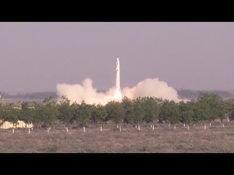 OneSpace OS-X0 launch - China's first private rocket (OS-X ??????)