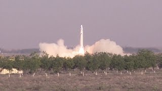 OneSpace OS-X0 launch - China's first private rocket (OS-X 重庆两江之星)