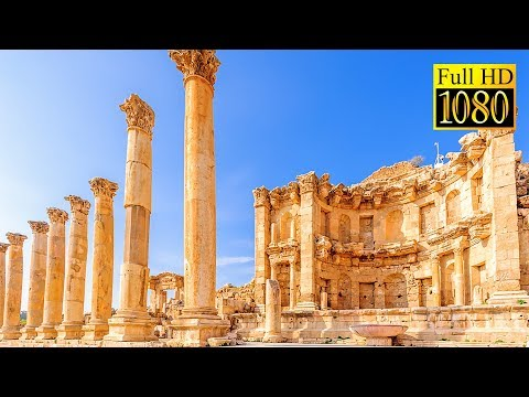 Jordan on Budget Travel - Jerash Roman Ruins by Shared Taxi