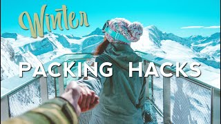 18 Travel WINTER Packing Hacks - How to Pack Better