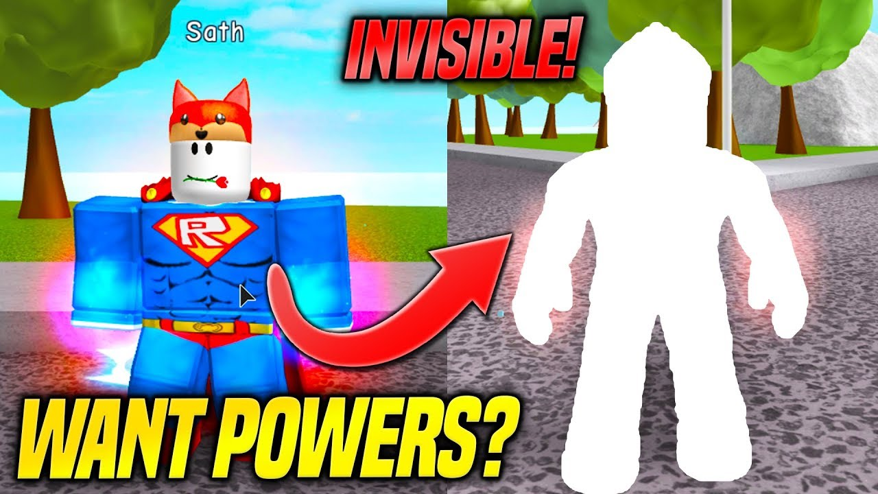 *NEW* GETTING SUPER POWERS IN SUPER POWER TRAINING SIMULATOR! (Roblox)