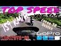 HONDA XRE 300 TOP SPEED 159KM/H VELOCIDADE M�XIMA - TESTE COROA 38 DENTES