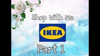 IKEA - Part 1 - Shop with me - Showroom - Decor Ideas -