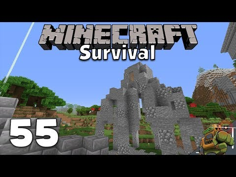 The Spider Building | Minecraft Let's Play | Season 1 Episode 55