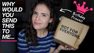 WHY WOULD YOU SEND THIS TO ME... (opening birthday gifts) | AYYDUBS thumbnail