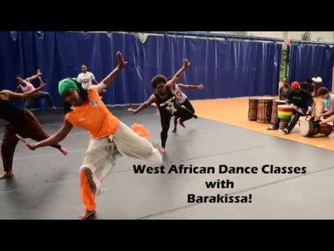 Thursday West African Dance Classes w/Barakissa Coulibaly [8/10]
