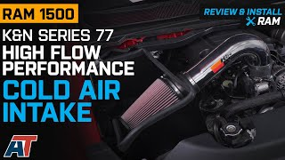 2019-2020 RAM 1500 5.7L K&N Series 77 High Flow Performance Cold Air Intake Review & Install