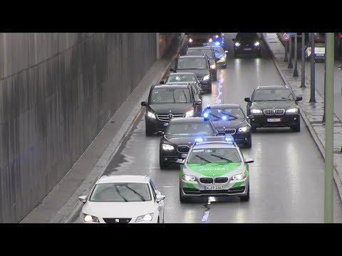 Polizeieskorte in München