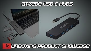 Unboxing ATZEBE USB C Hub Product Showcase
