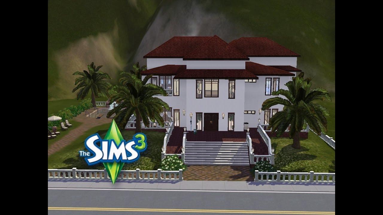 Sims 3 haus bauen lets build schicke arzt villa