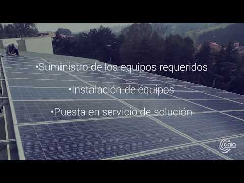 Gaia Tecnología e innovación - EPC O&M Solar -
