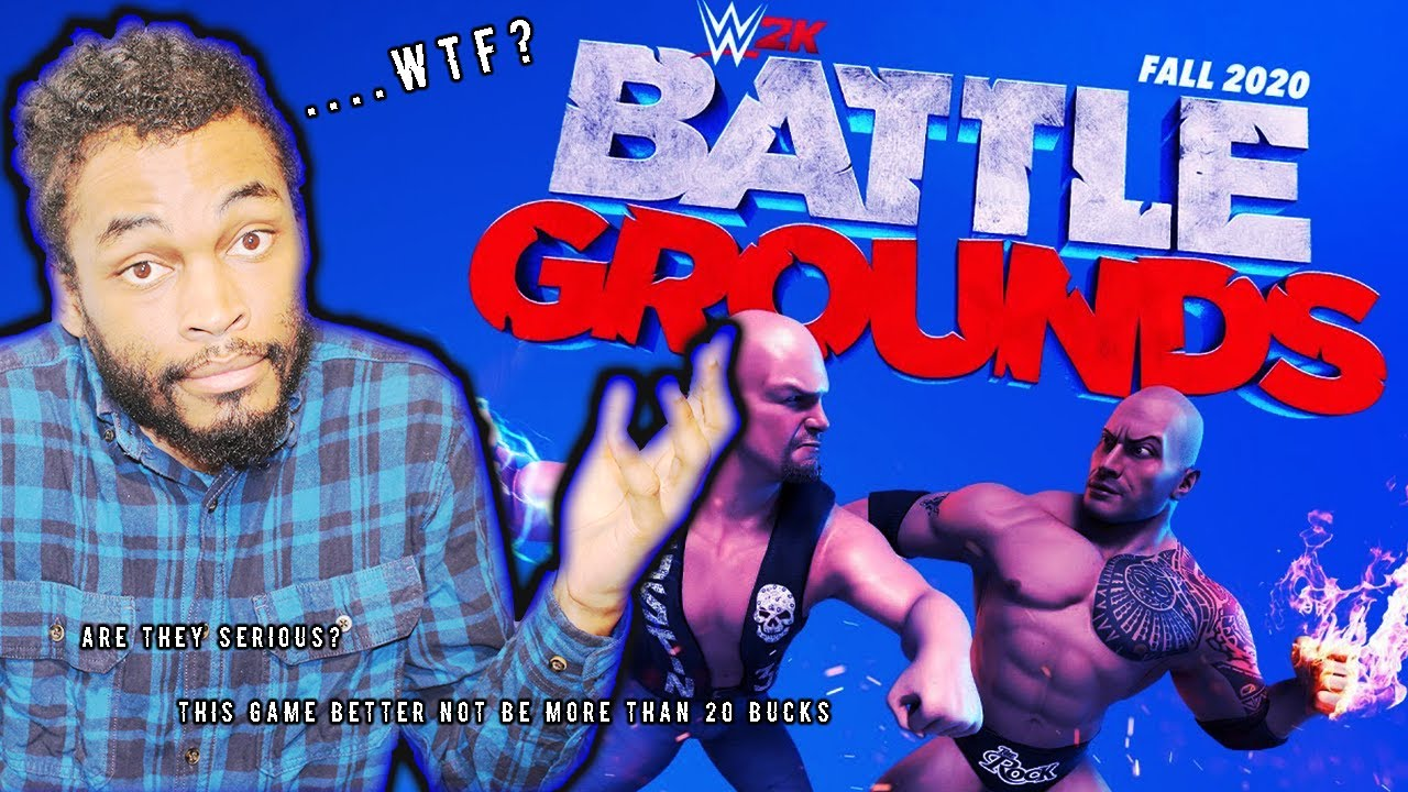 *NEW* WWE GAME! WWE 2K BATTLEGROUNDS...INITIAL THOUGHTS