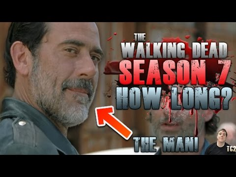 The Walking Dead Season 7 – How Long Will Negan Be in the Show For?