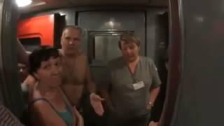 Пассажиры поезда -Димитровград-Адлер, измученные духотой в вагонах, устроили бунт