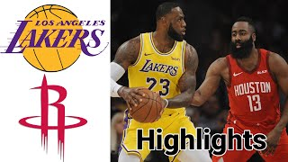 Lakers vs Rockets HIGHLIGHTS Full Game | NBA January 10
