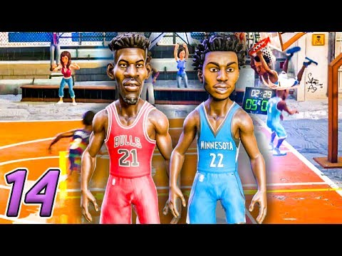 JIMMY BUTLER AND ANDREW WIGGINS JOIN FORCES! - NBA Playgrounds Gameplay Ep.14