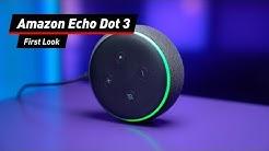 Alexa-Box für schmales Geld: Amazon Echo Dot 3