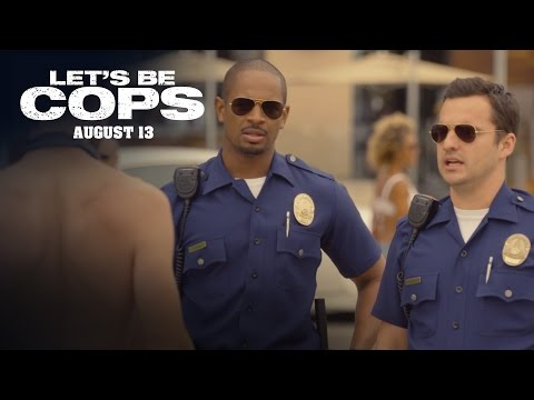 Let's Be Cops | Roller Blader Deleted Scene [HD] | 20th Century FOX