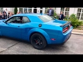 2018 Dodge Demon Clears its Throat!