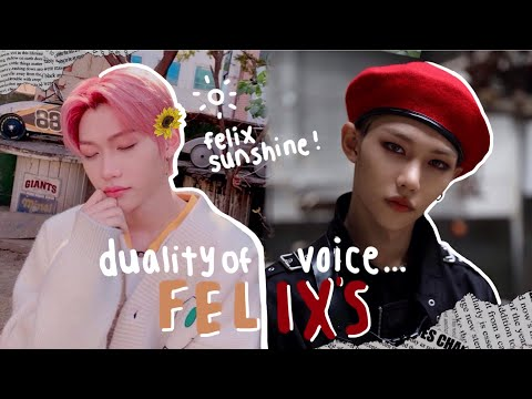 the duality of lee felix's voice
