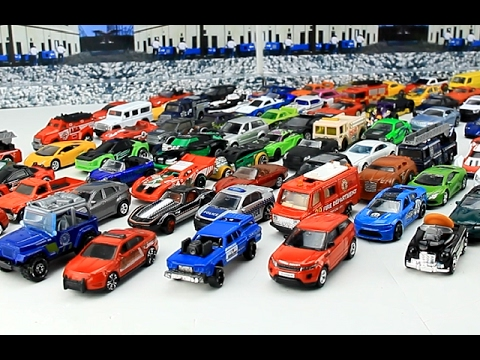 85 small toy cars for children | Police Car | Sports car | 45 minutes Video For Kids
