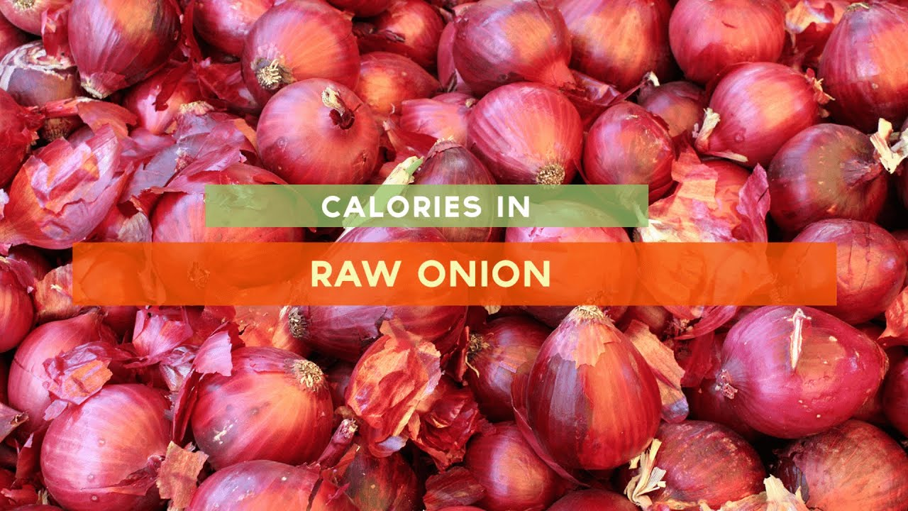How many calories in onions 29