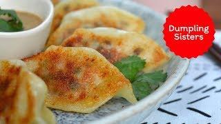 Easy Potsticker Dumplings  DUMPLING SISTERS #partner