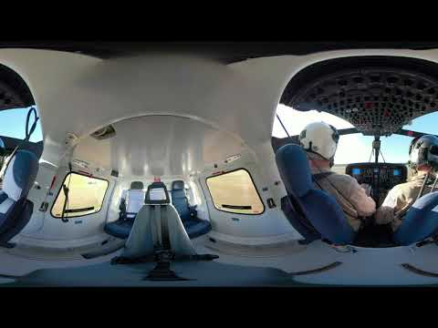 360° experience: Leonardos TH-119 performs a touchdown autorotation