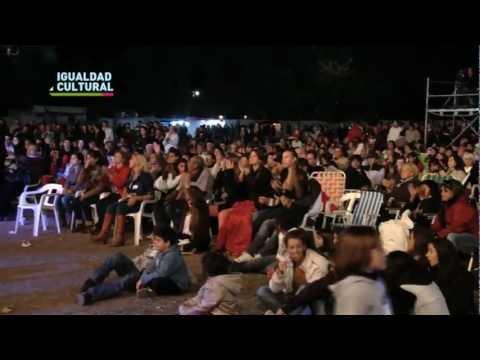 Igualdad Cultural presente en la Fiesta del Durazno de San Pedro, Prov. de Buenos Aires.